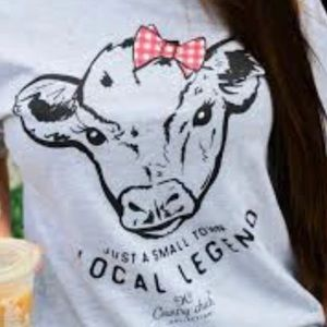 NEW. Country chick local legend t-shirt. Small.
